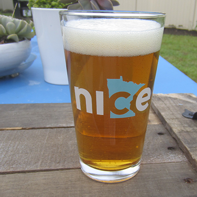 Nice Minnesota pint glass